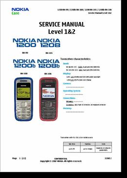 diagrama manual nokia 1208 1208 rh clubdediagramas com nokia 1208 cell phone manual nokia 1208 service manual free download