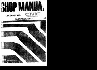 Image Result For Honda Civic Aerodeck Manual Pdf