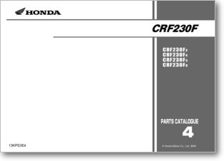 honda crf230f service manual pdf
