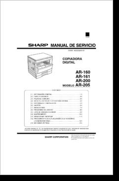 Sharp ar manual