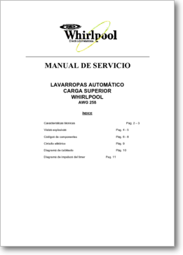 Diagrama manual whirlpool awg 258 for Manual de viveros forestales pdf