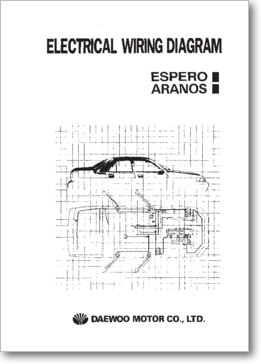 diagrama  manual daewoo espero y aranos