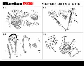 diagrama  manual beta bk 150
