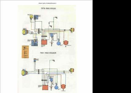 Xr250l Wiring Diagram Wiring Diagram on