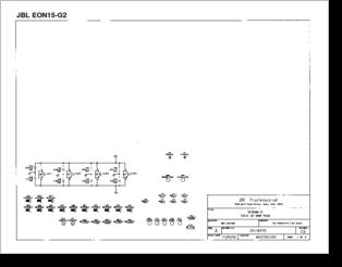 diagrama manual jbl eon 15 g2 con ic lm 3886 rh clubdediagramas com Parts for EON15 G2 Speaker JBL EON15 G2 Schematics