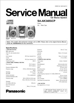 DiagramaManual    Panasonic    Manual    Panasonic       SA   AK340