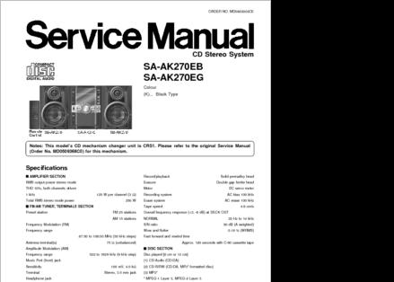 DiagramaManual    Panasonic       SA   AK270