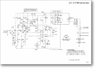 Diagrama/Manual QUAD QUAD 306 ETAPA DE POTENCIA