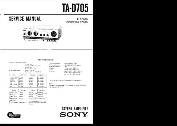 Diagrama  Manual Sony Ta