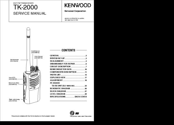 Diagrama  Manual Kenwood