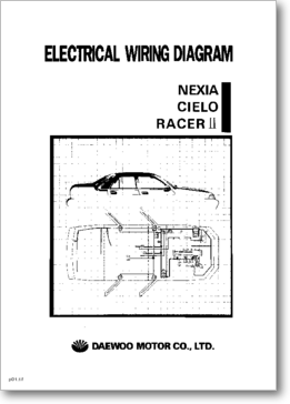diagrama  manual daewoo nexia  cielo y racer ii