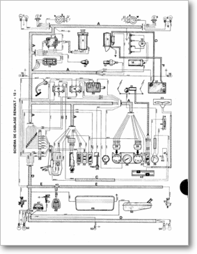 diagrama  manual renault renault 12