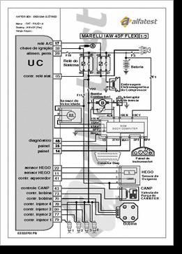 DiagramaManual diversos    fiat    esquema inyeccion 4sf
