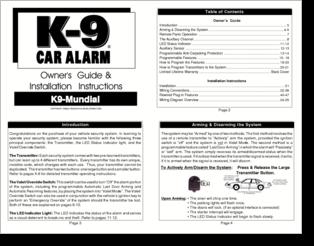 alarm diagram icons k9 alarm diagram
