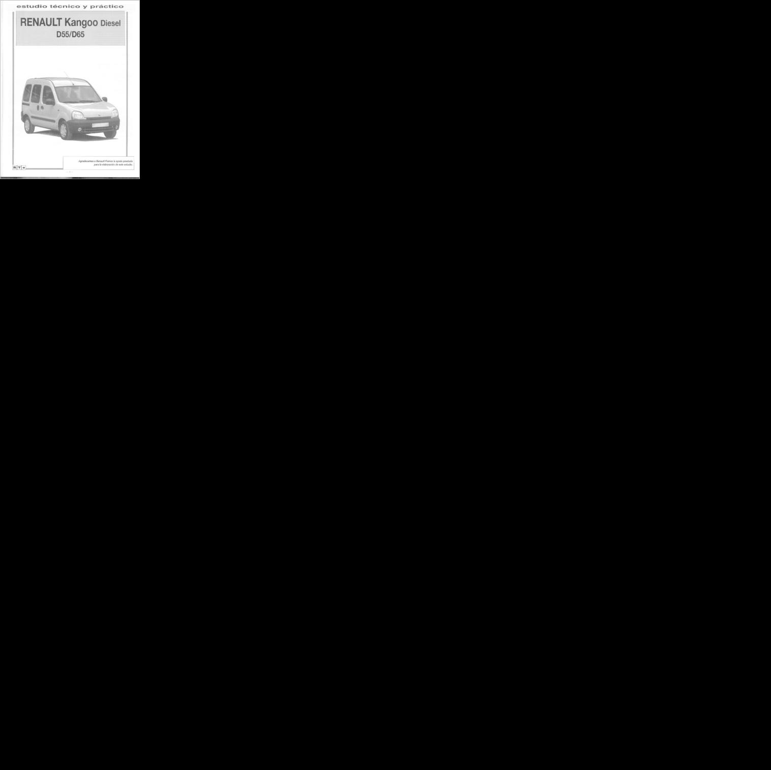 Diagrama  Manual Renault Kangoo K9k