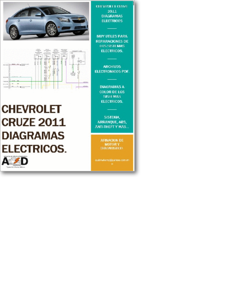 Diagrama  Manual Chevrolet Cruze 2011