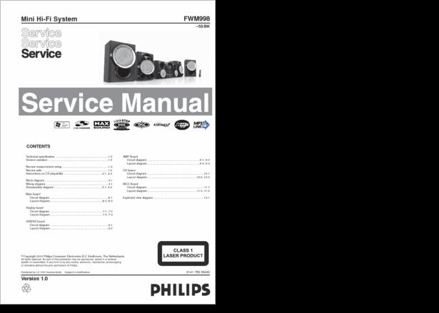 Diagrama  Manual Philips